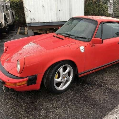 Porsche from estate auction in Ft Lauderdale